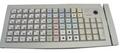 Pos клавиатура Posiflex KB 6600 - (белая, c ридером карт)