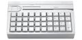 Pos клавиатура Posiflex KB 4000 - U (белая, c ридером карт)